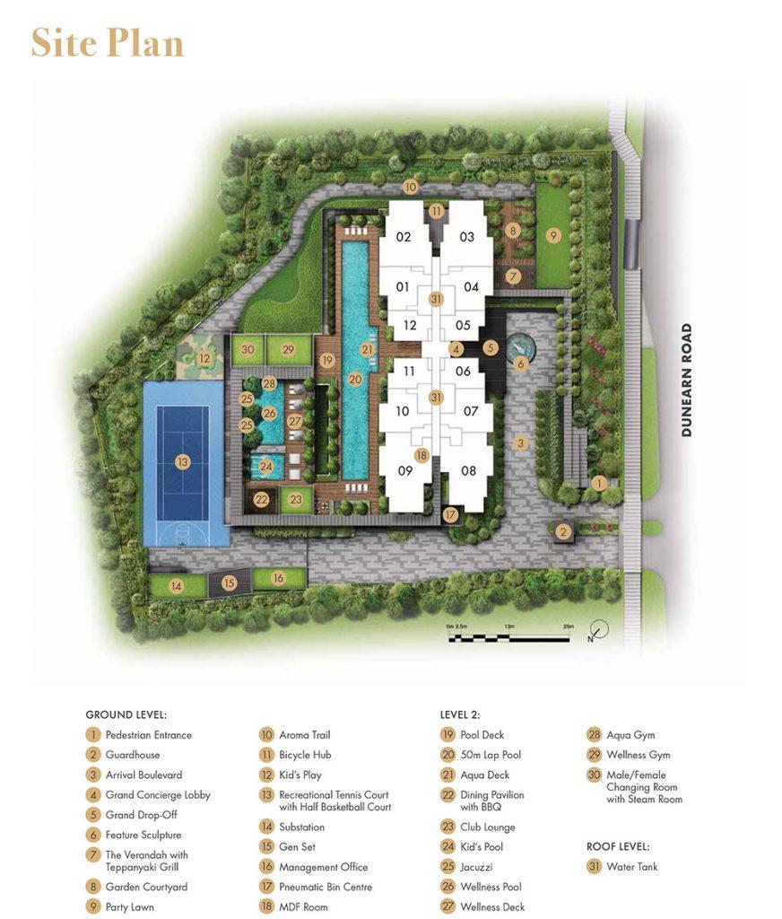 pullman-residences-site-plan-singapore